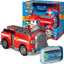 Spin Master Spin Master Psi Patrol zdalnie sterowany Wóz strażacki Marshall + pilot uniwersalny