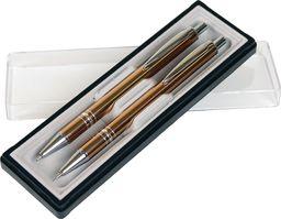 Cresco Długopis + ołówek Carlos w etui 28 mix kolorów (451010)