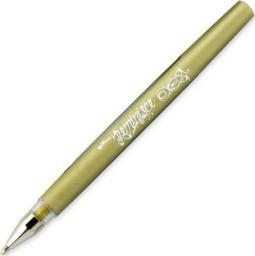 Fabryka Mazaków Długopis żelowy Uchida złoty