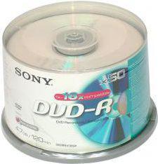 Sony DVD-R/50/Cake 4.7GB 16x