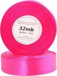 Pogotowie Florystyczno Ślubne Wstążka satynowa 6mm/32mb ciemny róż