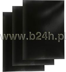 Titanium Karton do bindowania Titanum A4 czarny 250g