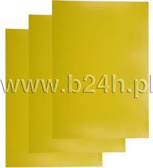 Titanium Karton do bindowania Titanum żółty