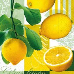 GOMAR Serwetki Lunch 33x33 Fresh & yellow