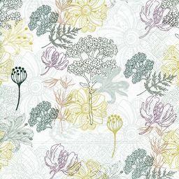 GOMAR Serwetki Lunch 33x33 Flower print