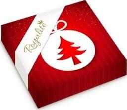 Herlitz Serwetki bożonarodzeniowe Czerwona bombka