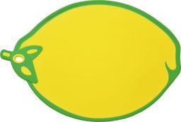 Deska do krojenia Tadar plastikowa Colorino Cytryna 33x24cm