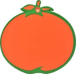 Deska do krojenia Tadar plastikowa Colorino Pomarańcza 28.5x27.5cm