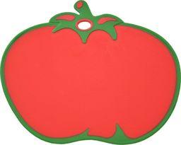 Deska do krojenia Tadar plastikowa Colorino Pomidor 31.7x27cm