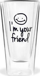 Vialli Design Szklanka I'm your friend 300ml