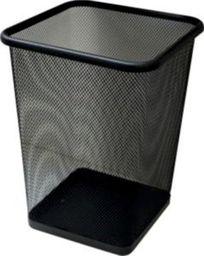 Kosz na śmieci Tres czarny (TIER0242)