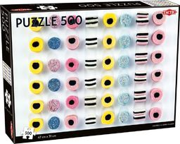 Tactic Puzzle 500 Liquorice allsorts in a row