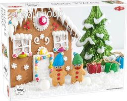 Tactic Puzzle 1000 Christmas gingerbread house
