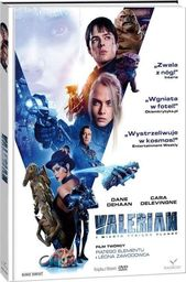 Valerian i miasto tysiąca planet DVD + książka