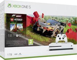 Microsoft Konsola Xbox One S 1TB z grą Forza Horizon 4 i dodatkiem Lego Speed Champions