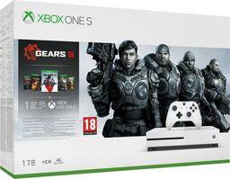 Microsoft Xbox One S 1TB + Gears 5, Gears of War Ultimate, Gears of War 2,3,4
