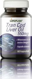 LIFEPLAN Cod Liver Oil 550mg 60 kapsułek