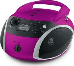 Radioodtwarzacz Grundig Grundig GRB 3000, CD Player(pink / silver, FM radio, CD-R / RW, Bluetooth)