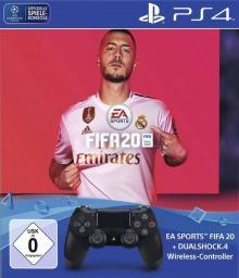 Gamepad Sony DualShock 4 + FIFA 20