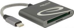 Czytnik Delock DeLOCK Card Reader -USB C> CF Type I / Micro SD
