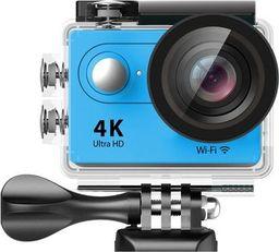 Kamera EKEN Kamera sportowa EKEN H9R Niebieska - 2 baterie + monopod pro