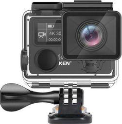 Kamera EKEN Kamera sportowa EKEN H5S Plus - 3 baterie + monopod pro