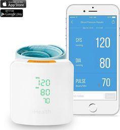 Ciśnieniomierz iHealth iHealth Networked Wrist Blood Pressure Monitor View BP7S(white / light gray)