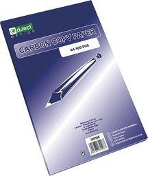 D.Rect Kalka ołówkowa fioletowo/niebieska A4