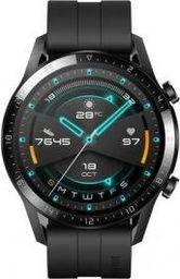 Smartwatch Huawei Huawei Watch GT2 46mm sport watch(black, Bracelet: Matte Black, fluorine rubber)