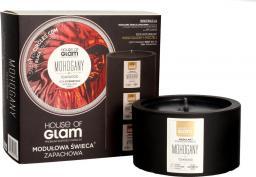 House of Glam modułowa świeca zapachowa Mohogany & Teakwood 200g