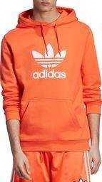 Adidas adidas Originals Trefoil Hoodie DZ4573  pomarańczowe XL