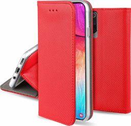 nemo Etui portfel Flip Magnet HUAWEI P30 PRO czerwone uniwersalny