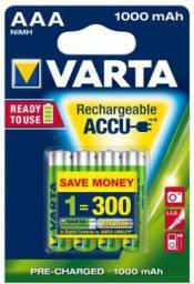 Varta Akumulator AAA / R03 1000mAh 4szt.