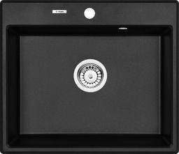 Deante 1-komorowy bez ociekacza 60 x 52cm + space saver (ZQN_G103)