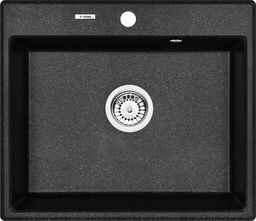 Deante Zlewozmywak 1-komorowy bez ociekacza Andante 60 x 52 cm granitowy (ZQN_2103)