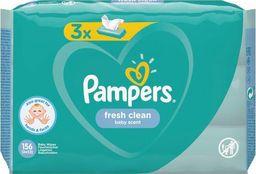 Pampers Zestaw chusteczek FreshClean 3x52 szt.