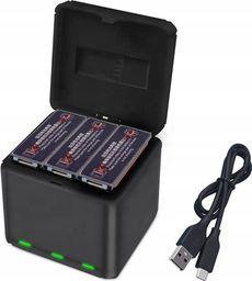 SunnyLife Hub Qc3.0 Ładowarka Na 3x Bateria Akumulator Do Dji Osmo Action