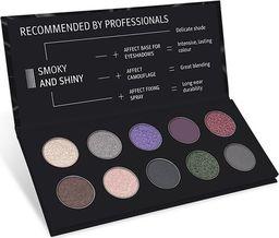 Affect AFFECT_Smoky & Shiny Pressed Eyeshadow Palette paleta cieni prasowanych 10x2-2,5g
