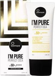 Suntique SUNTIQUE_I'm Pure Perfect Cica Sun Block krem przeciwsłoneczny do skóry wrażliwej 50ml