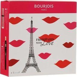 BOURJOIS Paris BOURJOIS_SET From Paris With Love Twist Up The Volume tusz do rzęs Ultra Black 8ml + Rouge Edition matowa pomadka do usta 010 7,7ml