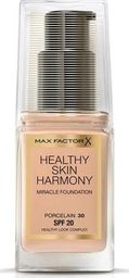 MAX FACTOR Healthy Skin Harmony Miracle Foundation SPF20 30 Porcelain 30ml