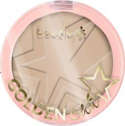 Lovely Golden Glow puder do konturowania twarzy 2 Light Beige 10g