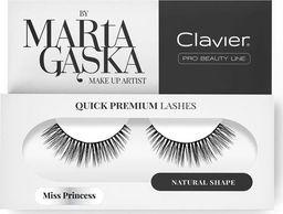 Clavier CLAVIER_Quick Premium Lashes rzęsy na pasku Miss Princess 823