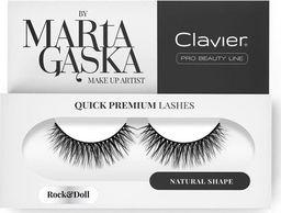 Clavier CLAVIER_Quick Premium Lashes rzęsy na pasku Rock&Doll 804