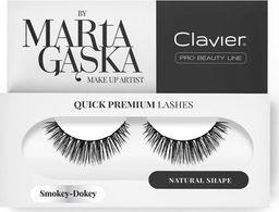 Clavier CLAVIER_Quick Premium Lashes rzęsy na pasku Smokey-Dokey 809