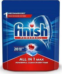 Finish FINISH_Powerball All In 1 Max tabletki do mycia naczyń w zmywarkach 20szt