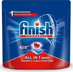 Finish FINISH_Powerball All In 1 Max tabletki do mycia naczyń w zmywarkach 42szt