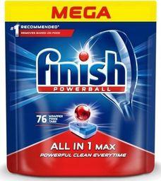 Finish FINISH_Powerball All In 1 Max tabletki do mycia naczyń w zmywarkach 76szt
