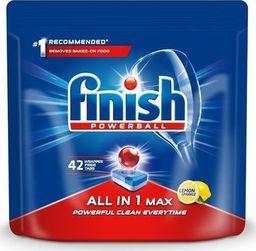 Finish FINISH_Powerball All In 1 Max tabletki do mycia naczyń w zmywarkach Lemon 42szt