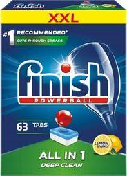 Finish FINISH_Powerball All In 1 Max tabletki do mycia naczyń w zmywarkach Lemon 63szt